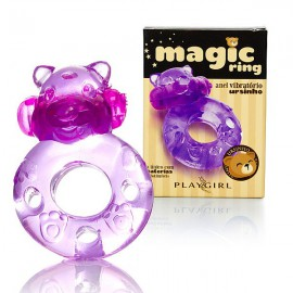 Anel Magic Ring Ursinho Capsula Vibratoria